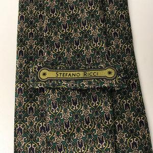 Vintage Stefano Ricci Silk Tie